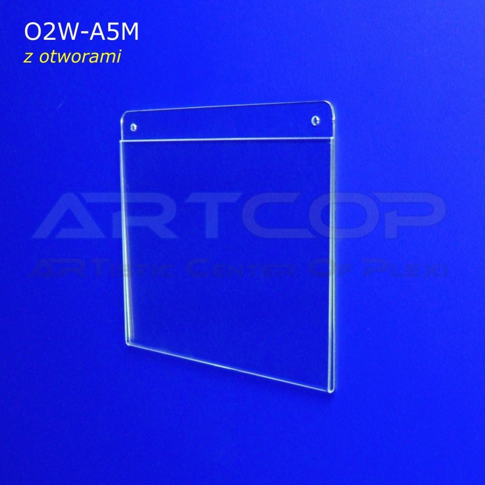 Koszulka A5 POZIOM z otworami - model O2W