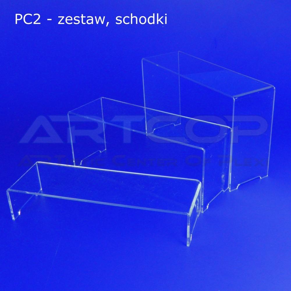 Schodek PC2 - mix 3 szt. - 1 komplet