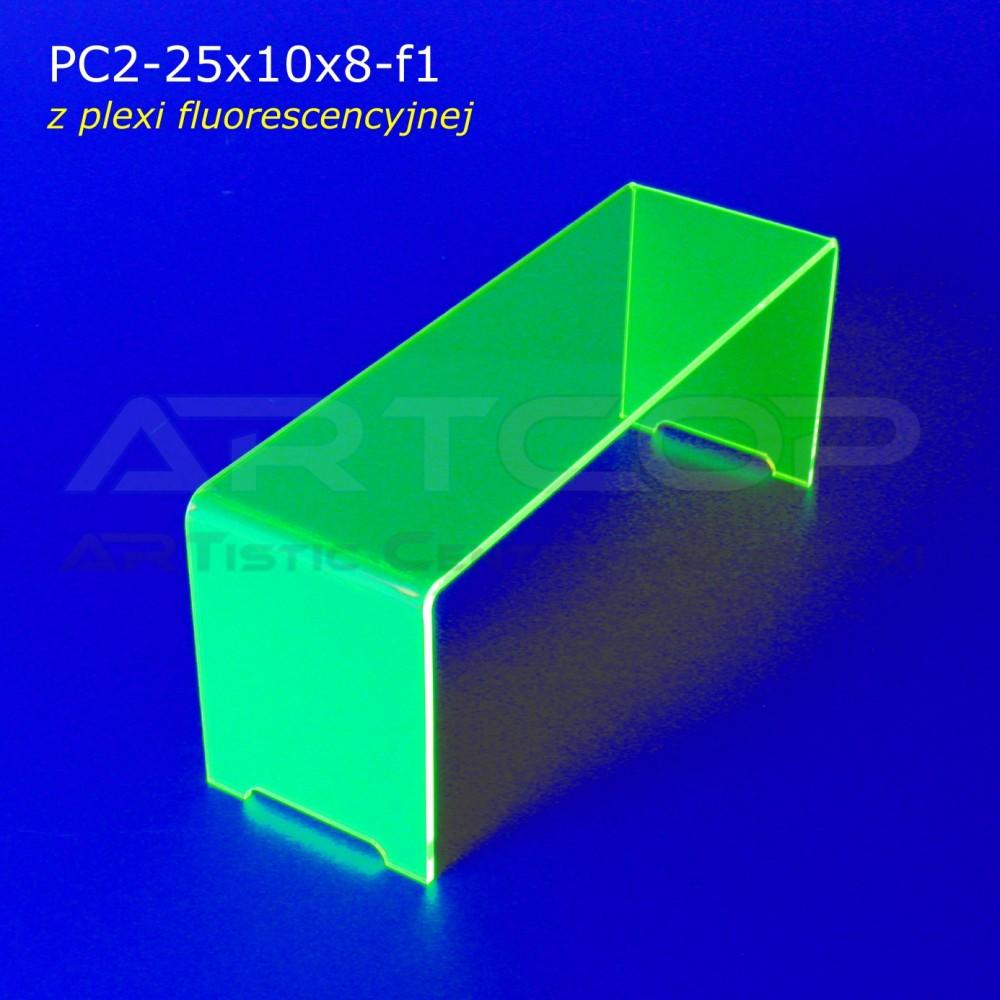 Schodek PC2-neon zielony - 25x10x8