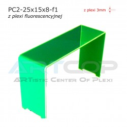 Schodek PC2-neon zielony - 25x15x8