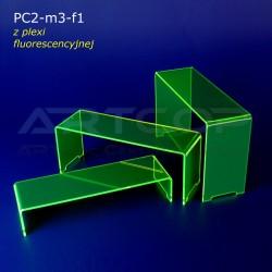 Schodek PC2-neon zielony - mix 3 szt.