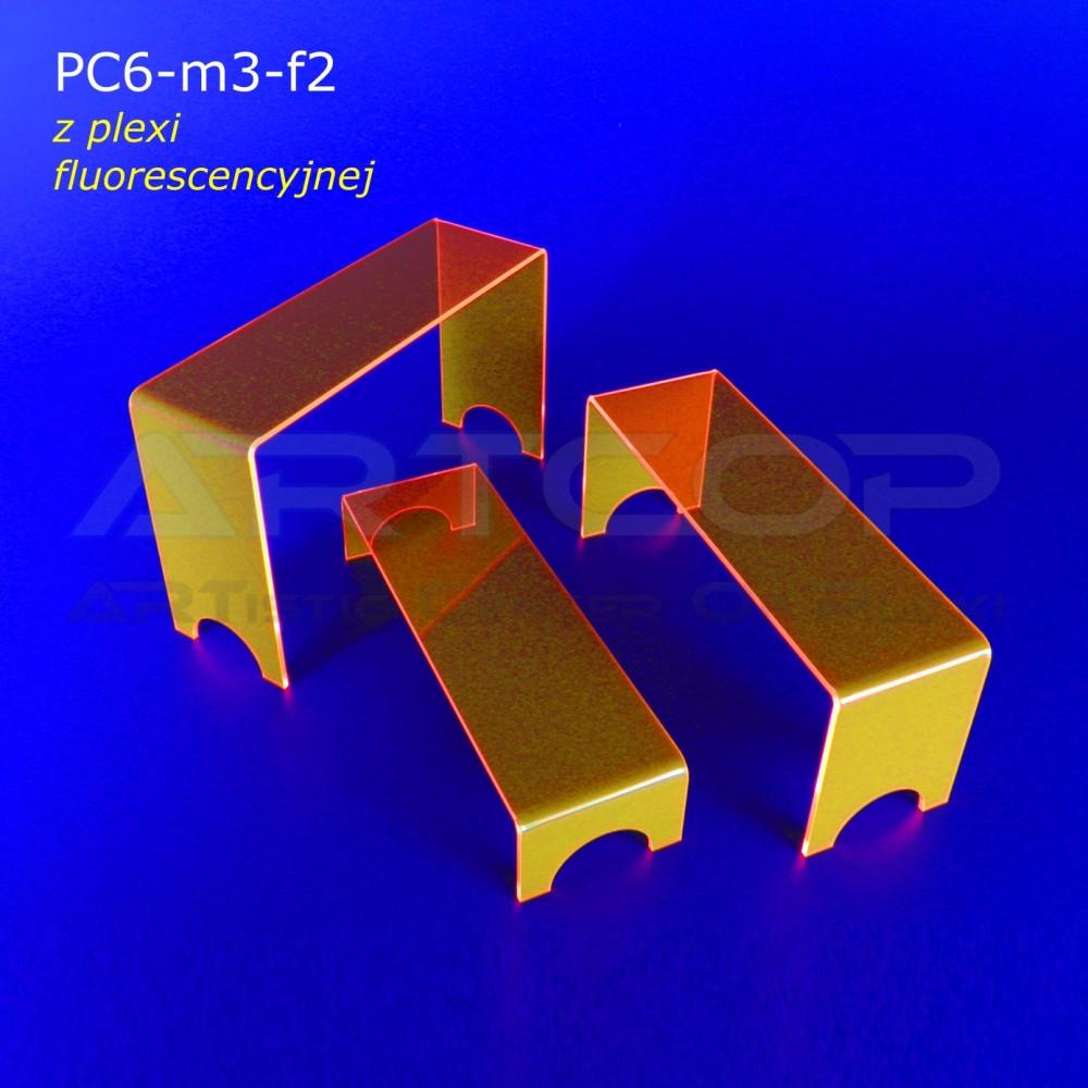 Schodek PC6-neon pomarańczowy - mix 3 szt.