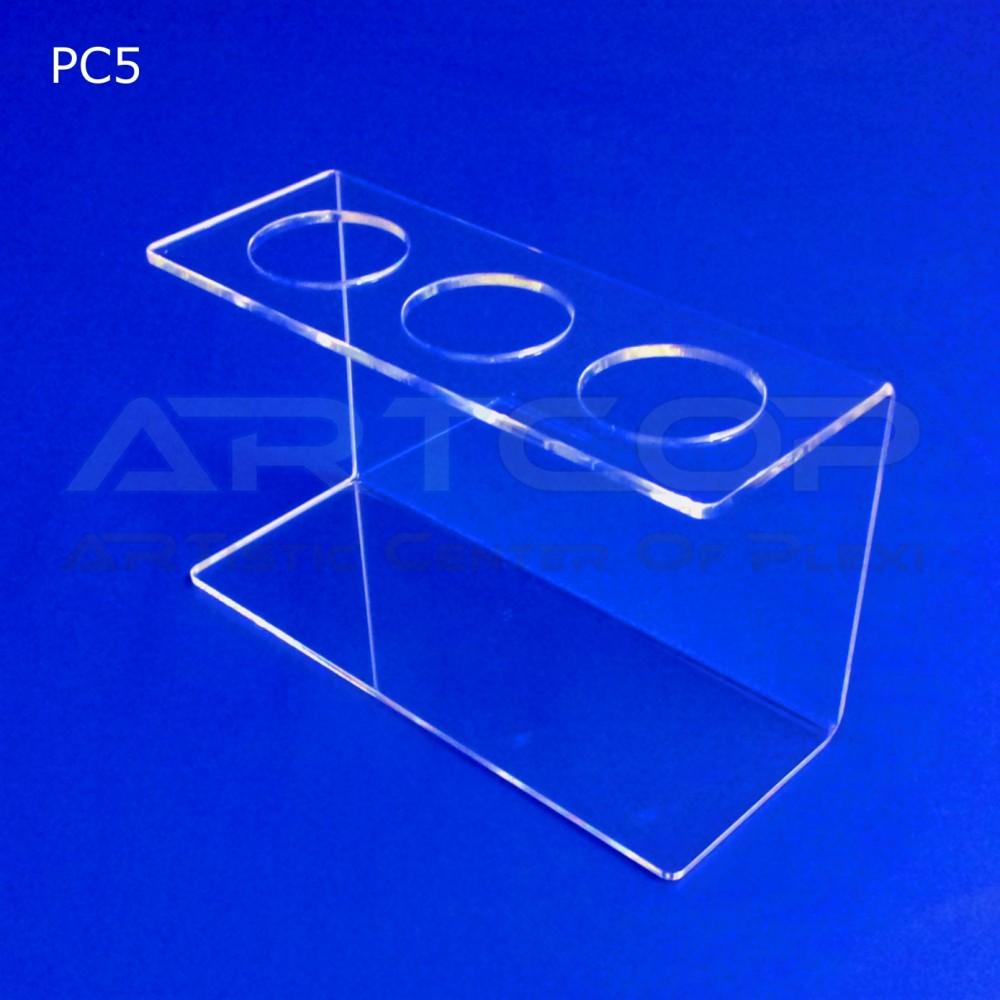 Podstawka PC5 na 3 lody - transparent