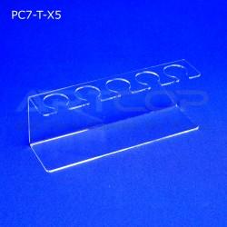Podstawka PC7 na 5 lodów - transparent