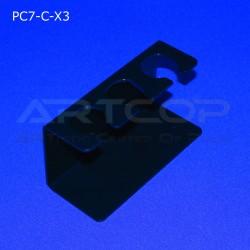 Podstawka PC7 na 3 lody - czarna