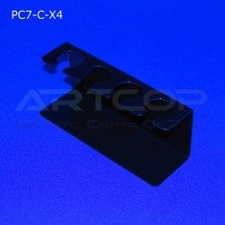 Podstawka PC7 na 4 lody - czarna