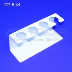 Podstawka PC7 na 4 lody - biała