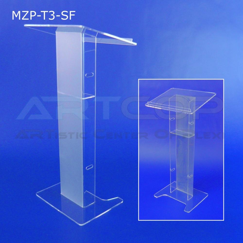 Mównica MZP-T3-SF noga SZEROKA mat