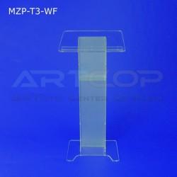 Mównica MZP-T3-WF noga WĄSKA mat