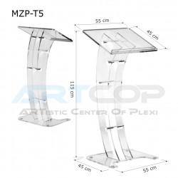 Mównica MZP-T5 noga KOLOR