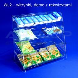 Witrynka z plexi WL2 - demo