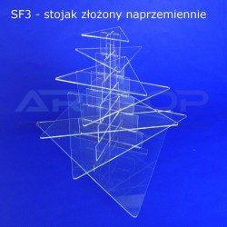Fontanna TRÓJKĄT - 7 blatów 546x75 o wys. 50cm