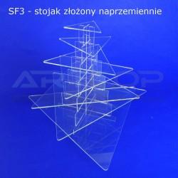 Fontanna TRÓJKĄT - 7 blatów 727x100 o wys. 67cm
