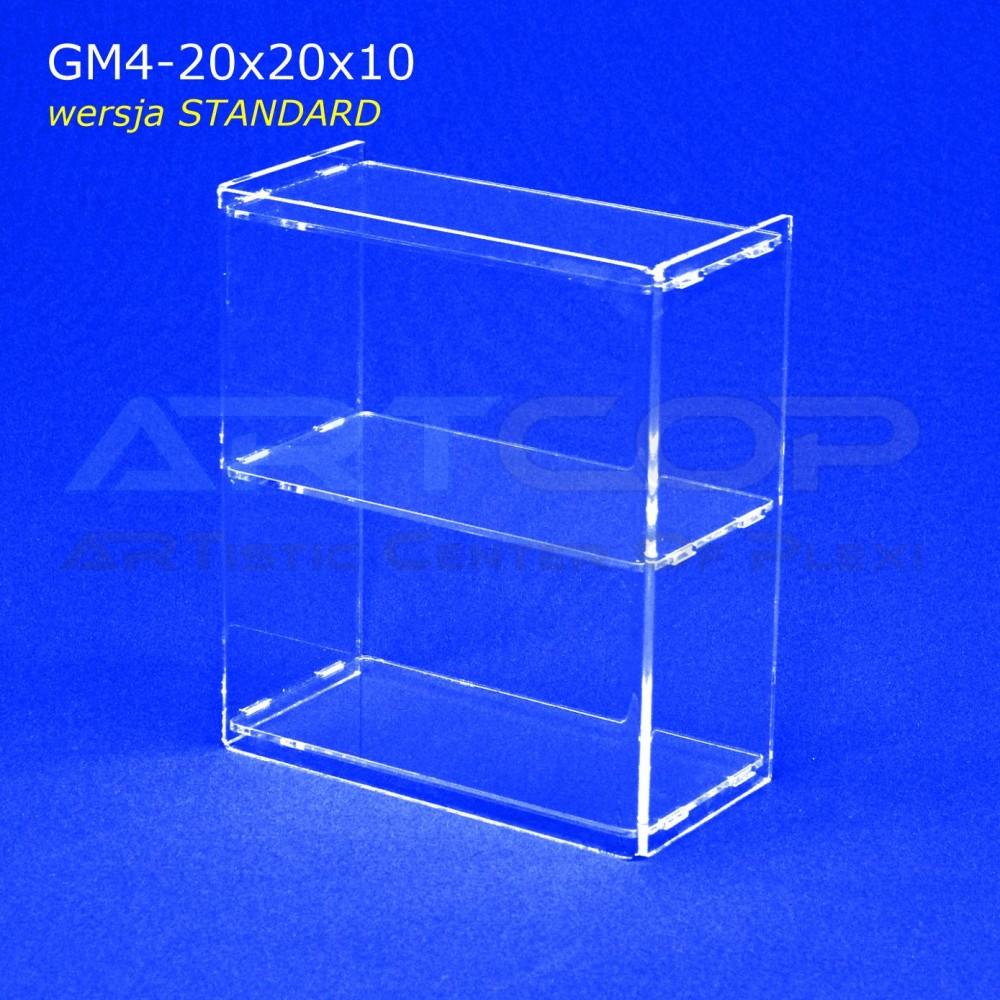 Gablotka Mini 20x20x10cm z plexi 4mm wersja STANDARD