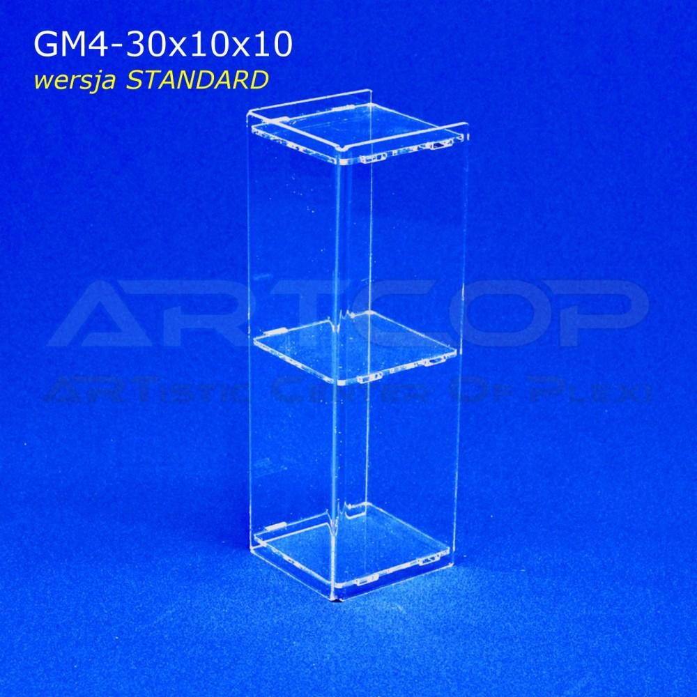 Gablotka Mini 30x10x10cm z plexi 4mm wersja EKONOMICZNA