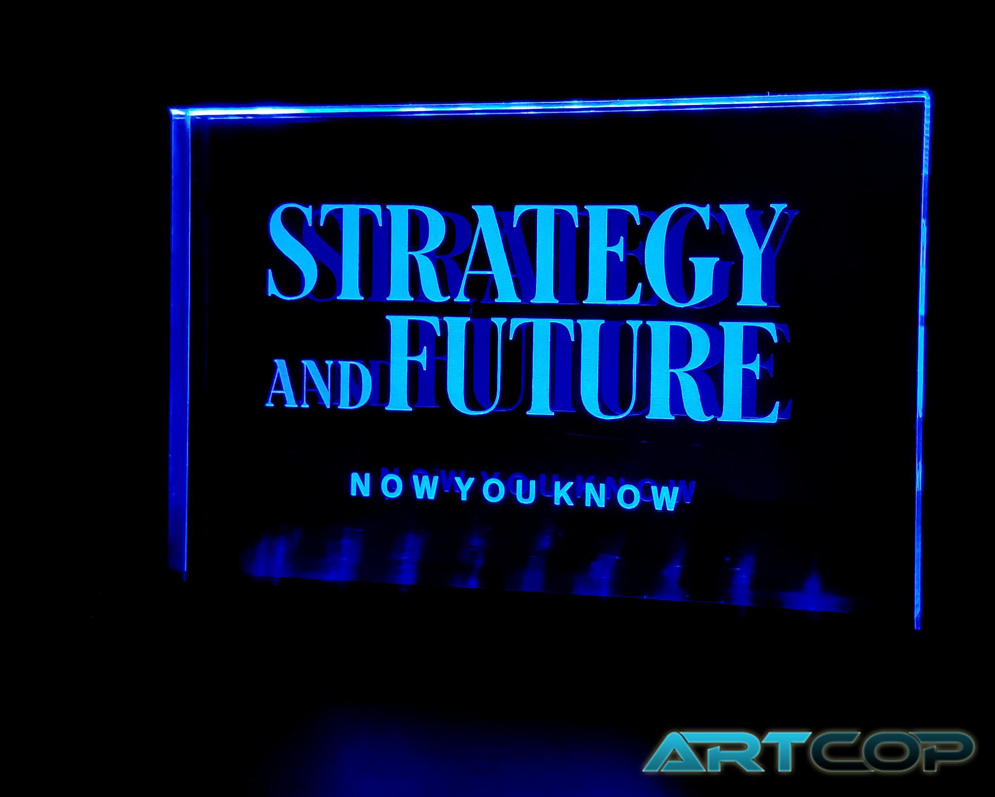 Tabliczka podświetlana LED
